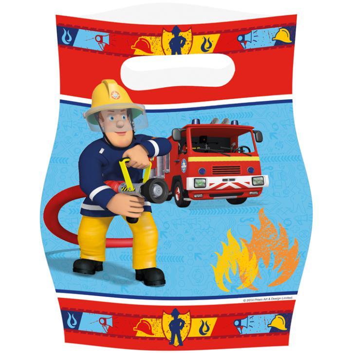 Party-Tüten Feuerwehrmann Sam 8 Stück