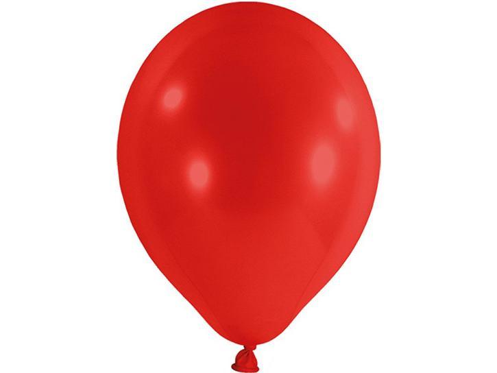 Luftballon metallic rot 20 Stk.