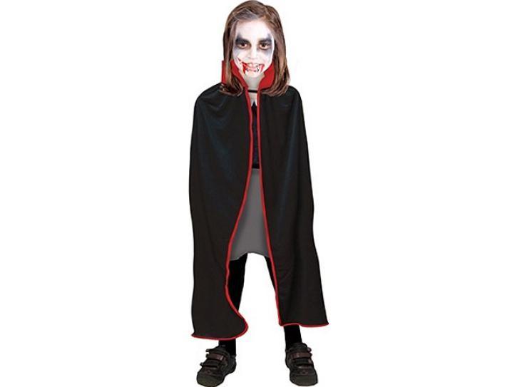 Umhang Vampir schwarz-rot 82cm