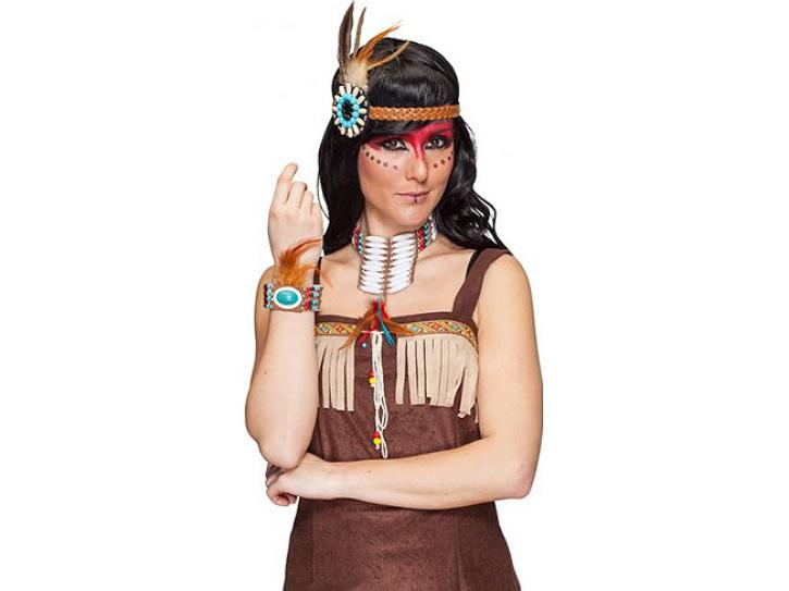 Indianer Schmuck-Set Iowa