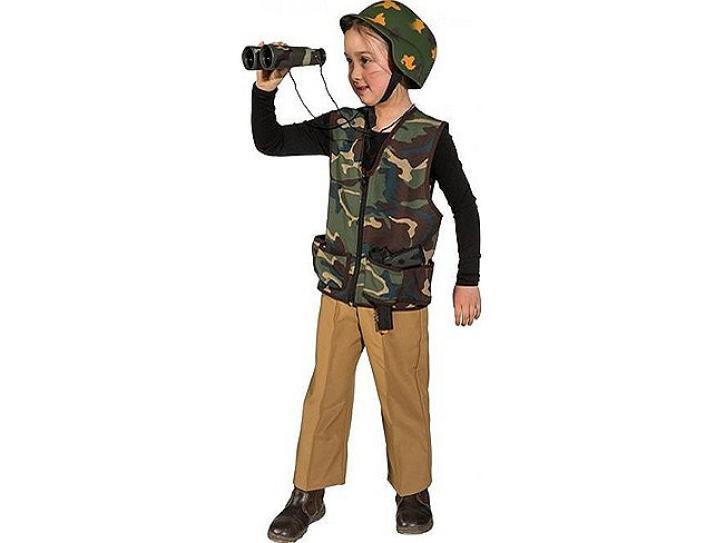 Weste Army für Kinder Gr. 140/152