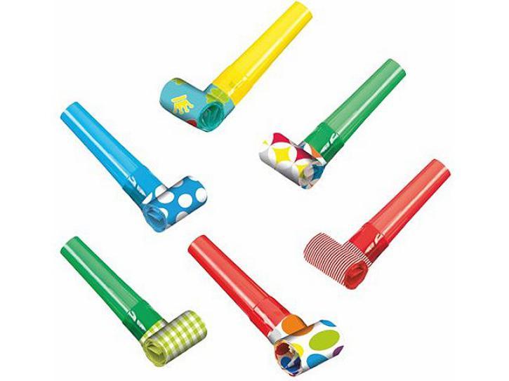 Luftrüssel verschiedene Muster 6 Stck