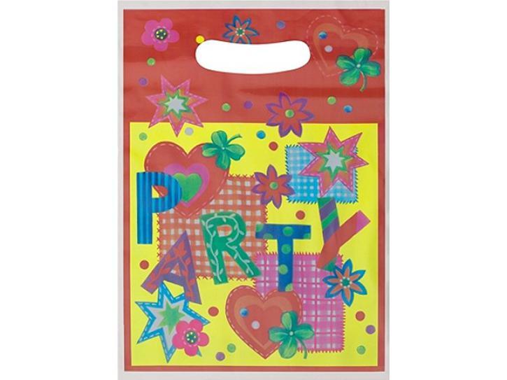 Partytüten  Party Time 10 Stck.