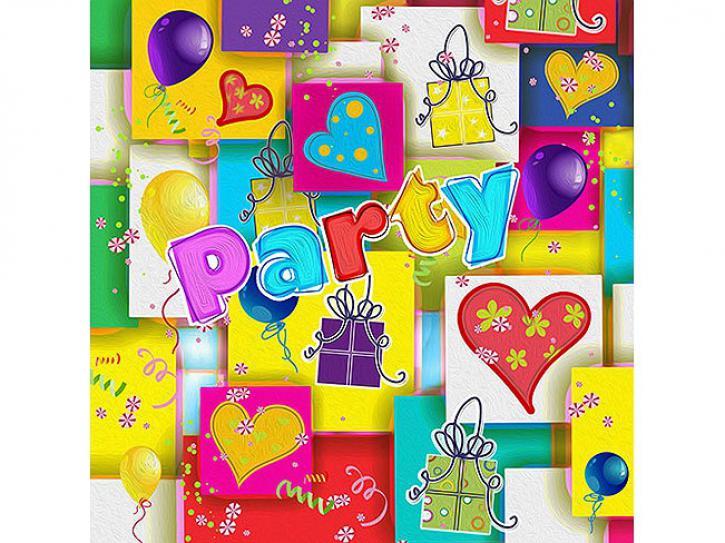 Servietten Party Mix 20 Stück