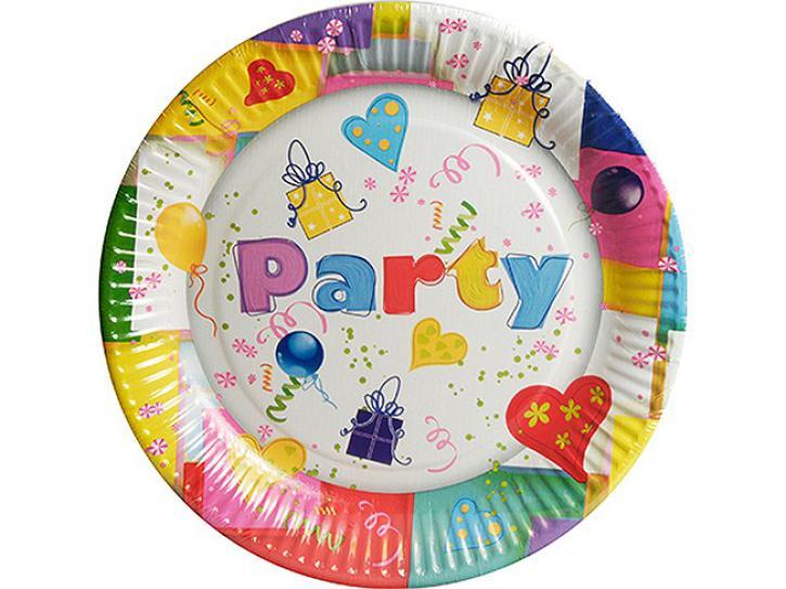 Teller Party Mix 10 Stück