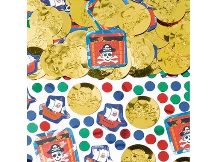 Konfetti Piraten Goldmünzen 14g