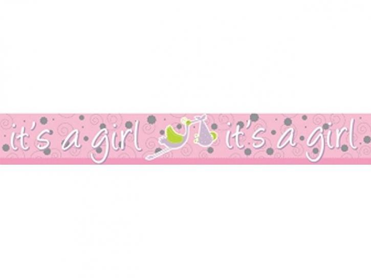 Folien-Banner It´s a girl