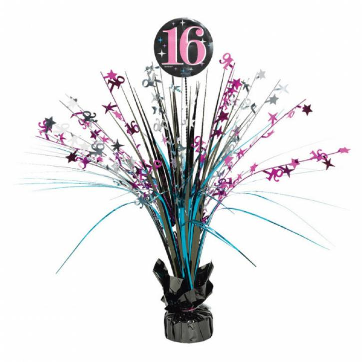 Dekoration Cascade 16. Geburtstag