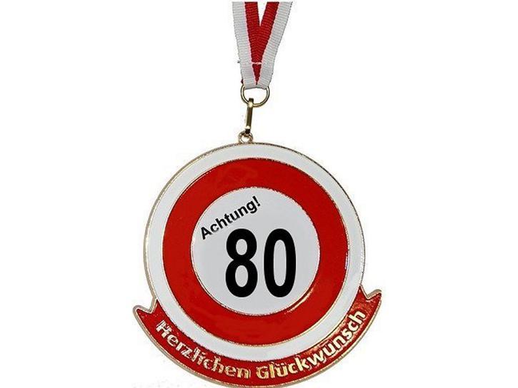 Orden Achtung 80 Herzlichen Glückwunsch