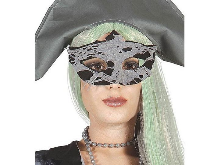 Maske Augen Fetzen Zombie Pirat