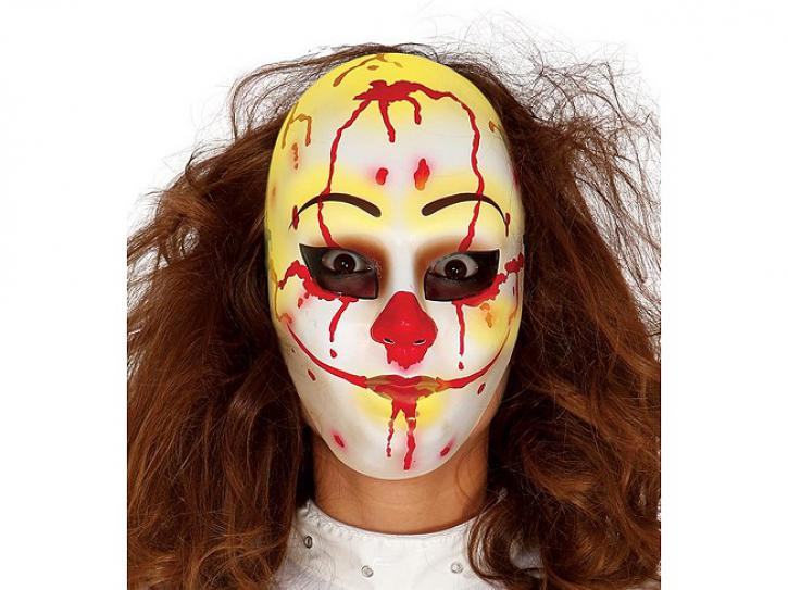 Maske blutverschmiert