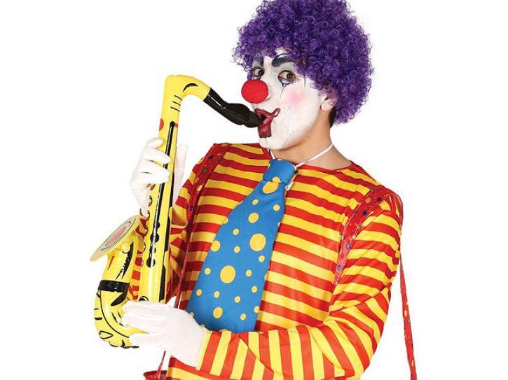 Saxofon aufblasbar