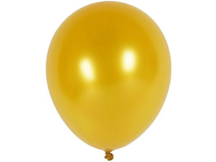 Luftballon metallic gold 20 Stk.