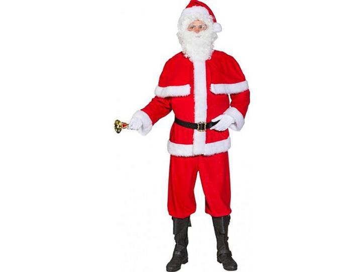 Weihnachtsmann Anzug mit Pelerine Gr.52/54