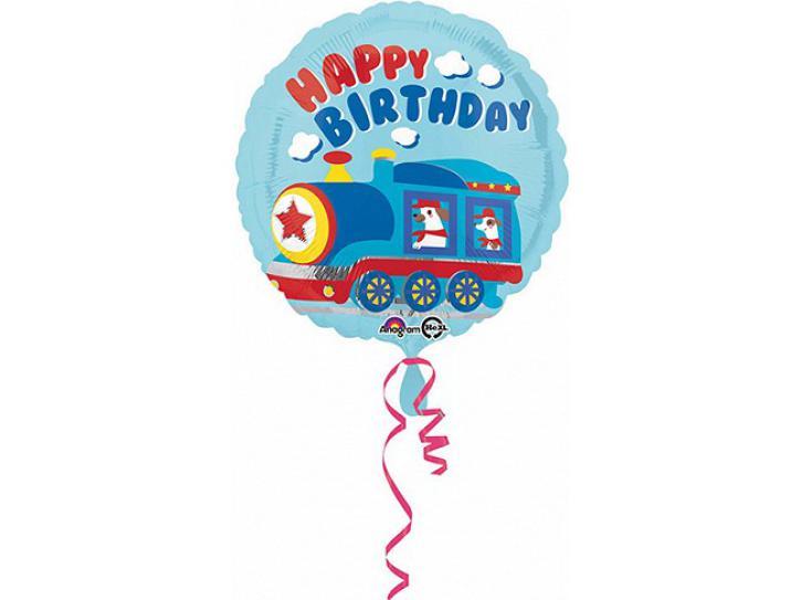 Folienballon Happy Birthday Zug 18