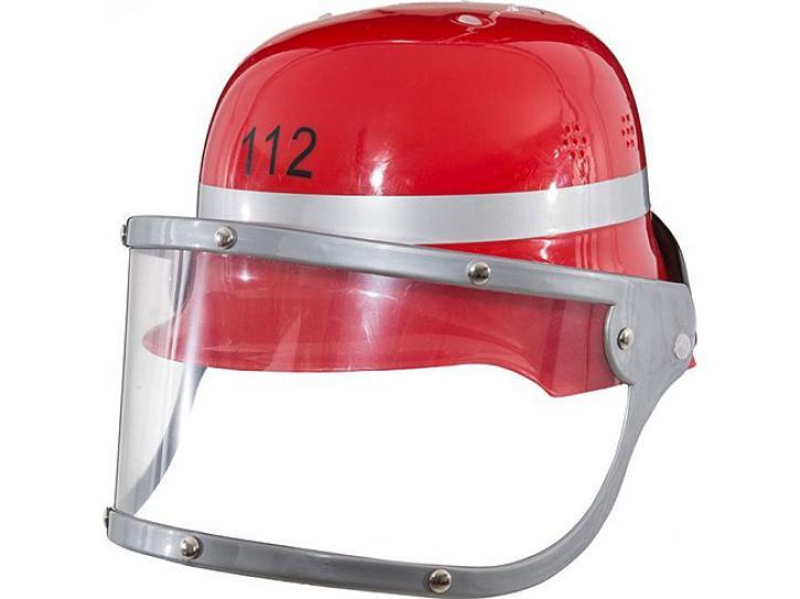 Feuerwehrhelm rot für Kinder KW 58/59