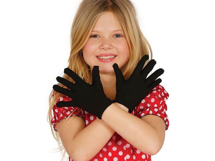 Handschuhe schwarz Kinder