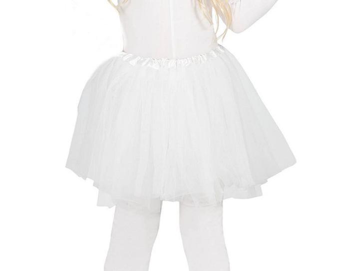 Kinderrock Petticoat weiß