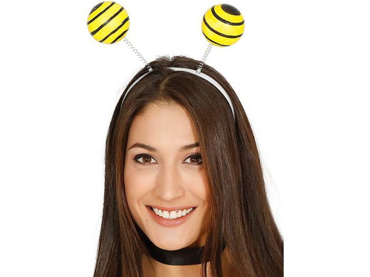 Haarreif Biene mit großen Kugeln