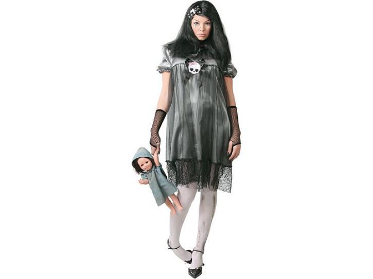 Kostüm Kleid Baby Tod Gr. 40/44