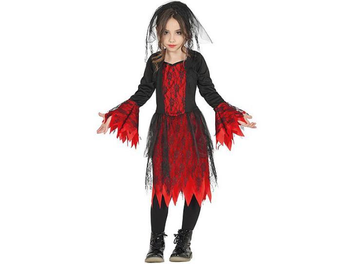 Gothic Girl für Kinder 3-4 Jahre