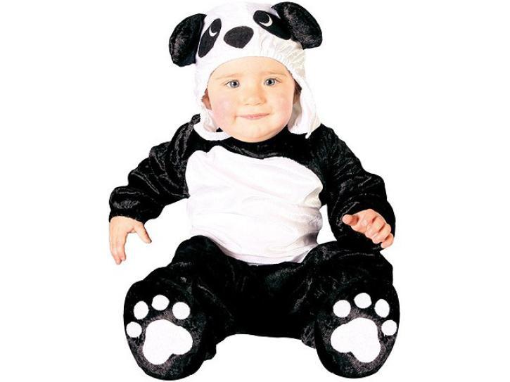 Kostüm Pandabär 6-12 Monate