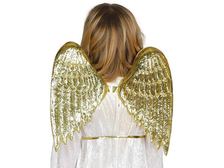 Engelflügel gold für Kinder