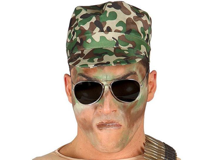 Militärsmütze Soldat Tarnfarbe