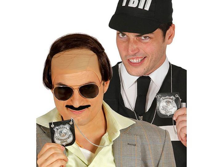 Polizei-Kette mit Abzeichen