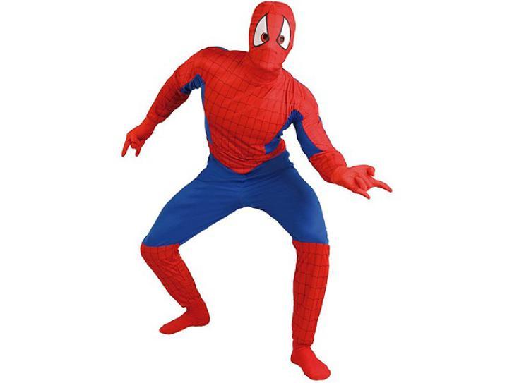 Kostüm Superheld Größe L