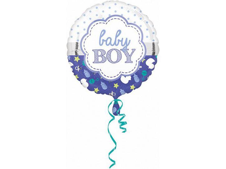 Folienballon Baby Boy 45 cm