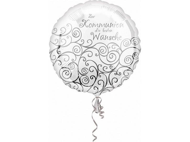Folienballon zur Kommunion 45 cm
