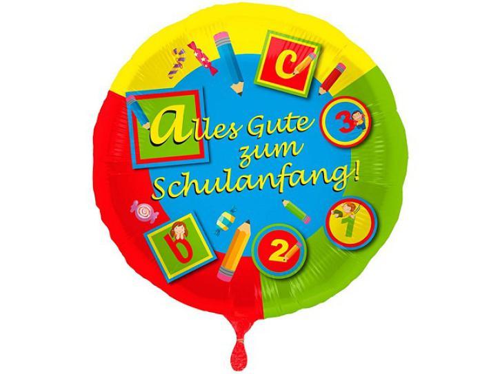 Folienballon Schulanfang