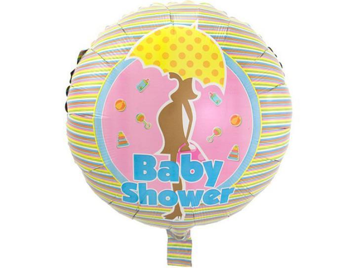 Folienballon Baby Shower bunt