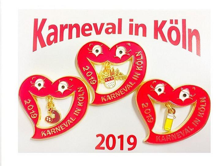 Dreierset Festabzeichen 2019
