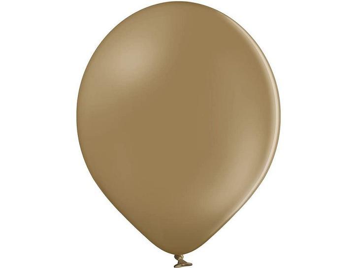 Luftballon mandel cappuccino 20 Stk.