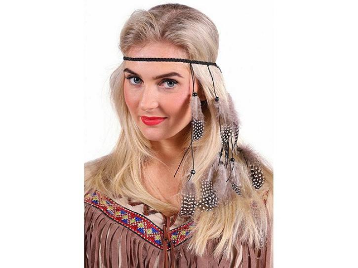 Indianer Kopfschmuck Kleiner Falke