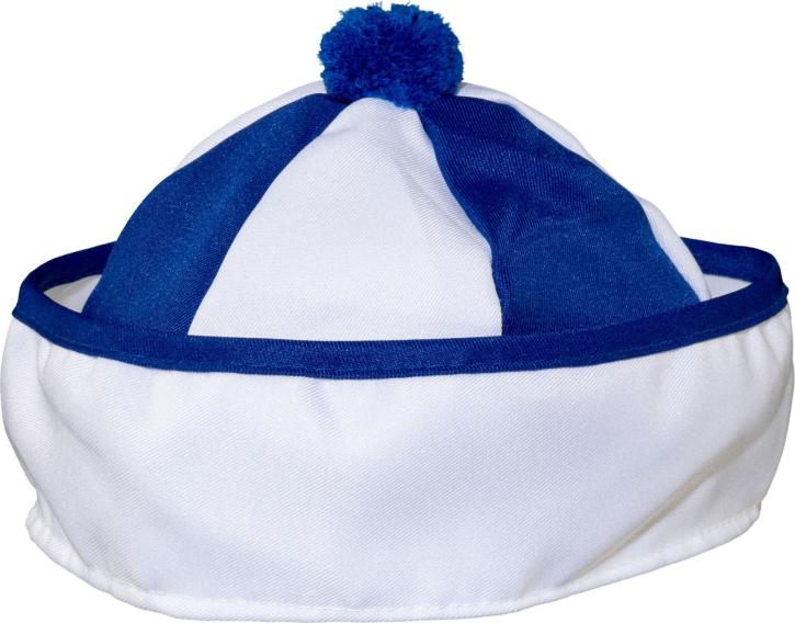 Matrosenmütze blau/weiß KW 60