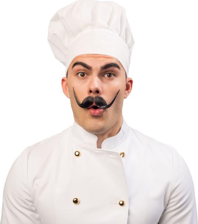 Kochmütze weiß