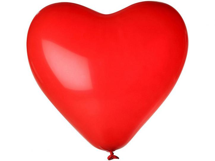 Luftballon Herz rot 20 Stk.