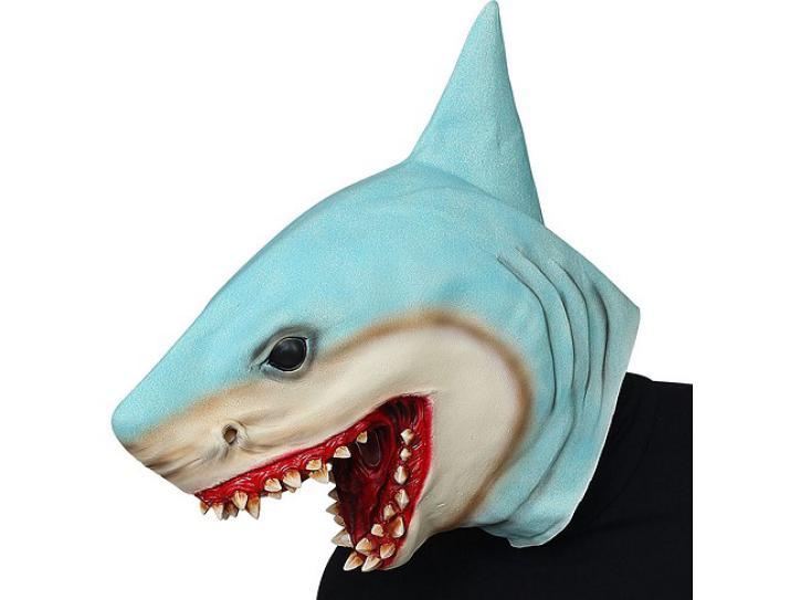 Maske Latex Killerhai