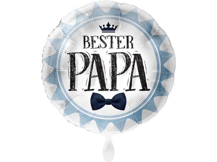 Folienballon Bester Papa 43 cm
