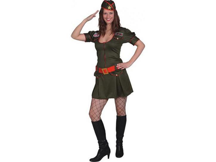 Kostüm Military Girl Gr. 38/40