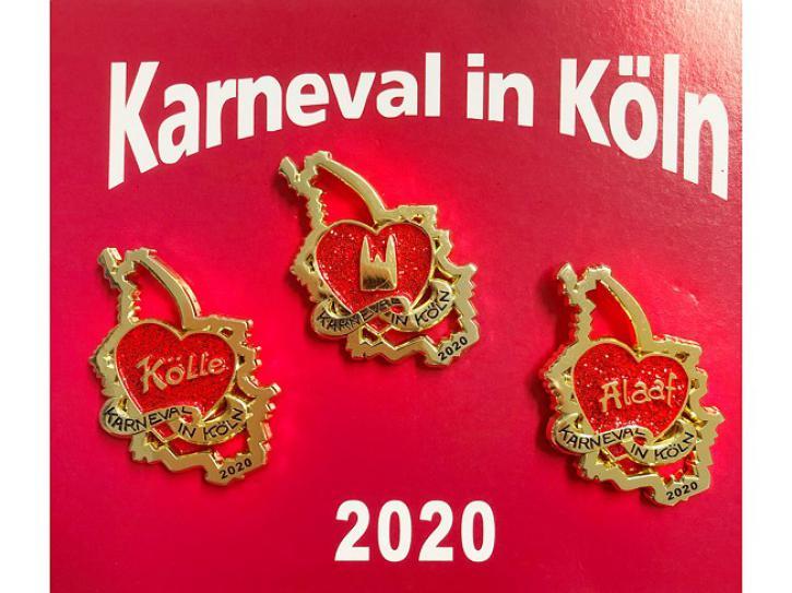 Dreierset Festabzeichen 2020