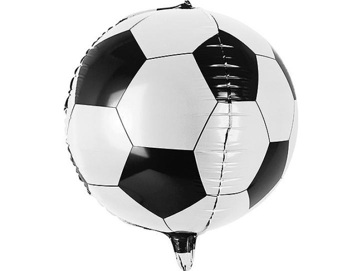 Folienballon Fußball 45 cm.