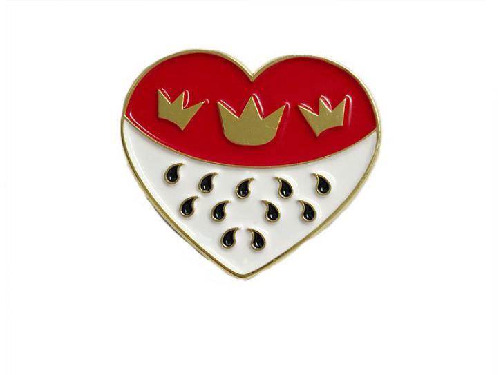 Pin Kölner Wappen Herz