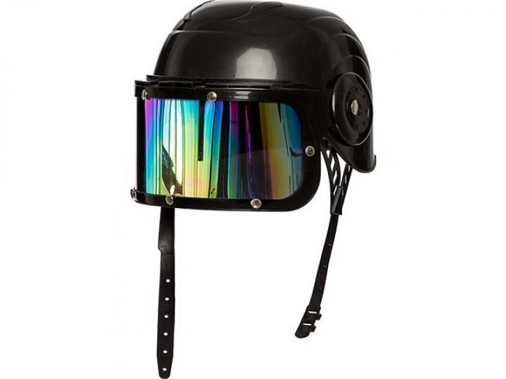 Helm schwarz für Kinder