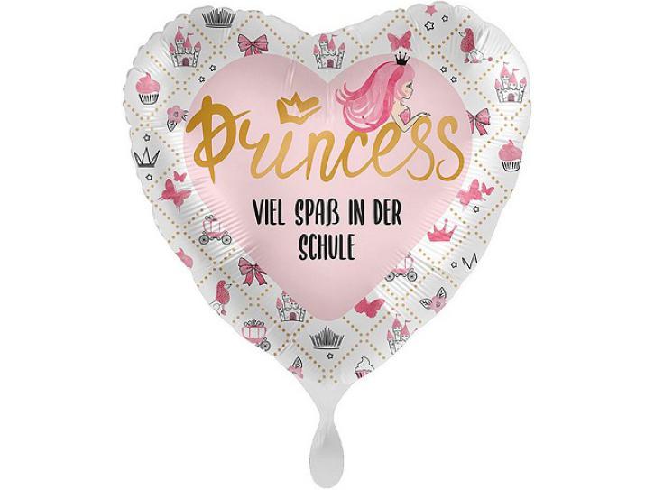 Folienballon Schule Princess