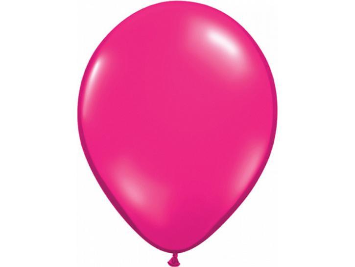 Luftballon Kristall fuchsia 20 Stk.