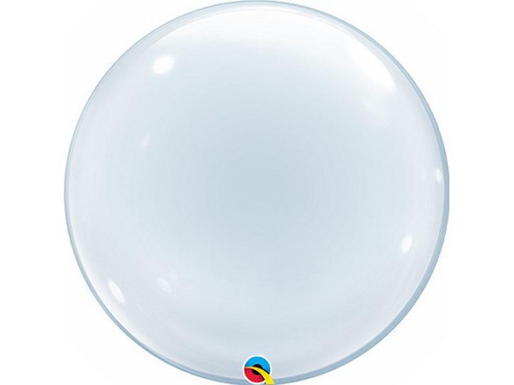 Ballon Bubble transparent 24